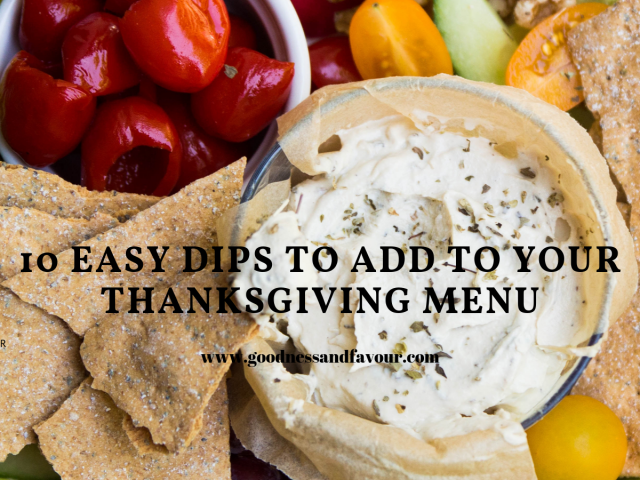 10 Easy Dips to Add to Your Thanksgiving Menu