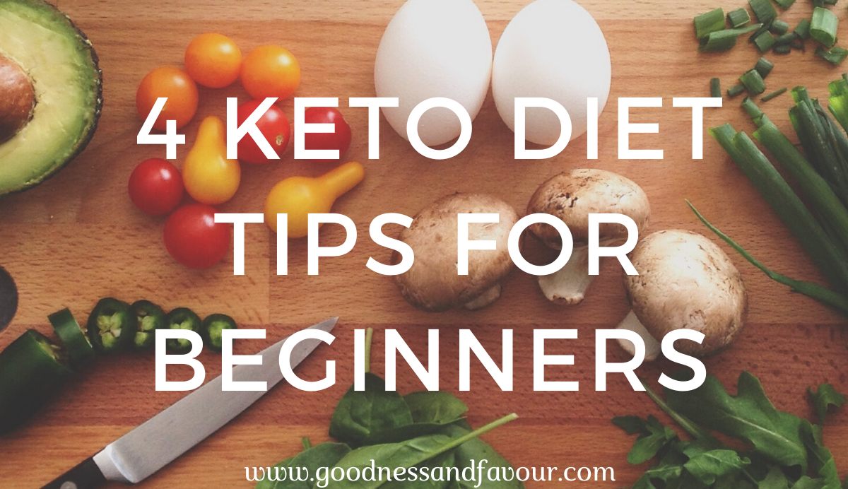 4 Keto diet Tips for Beginners