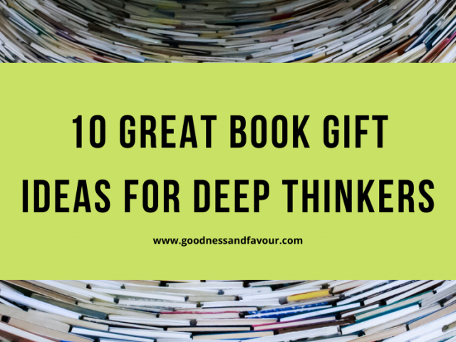10 Great Book Gift Ideas for Deep Thinkers