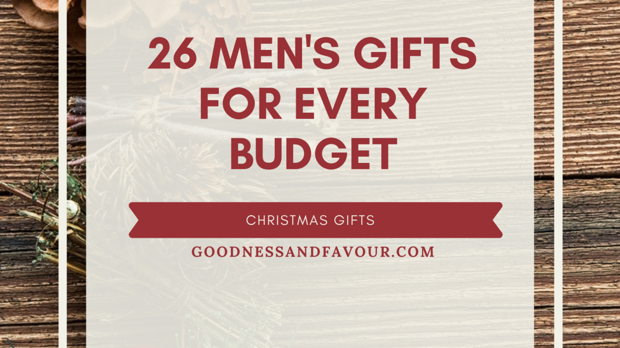 26 Men's Gifts for Every Budget