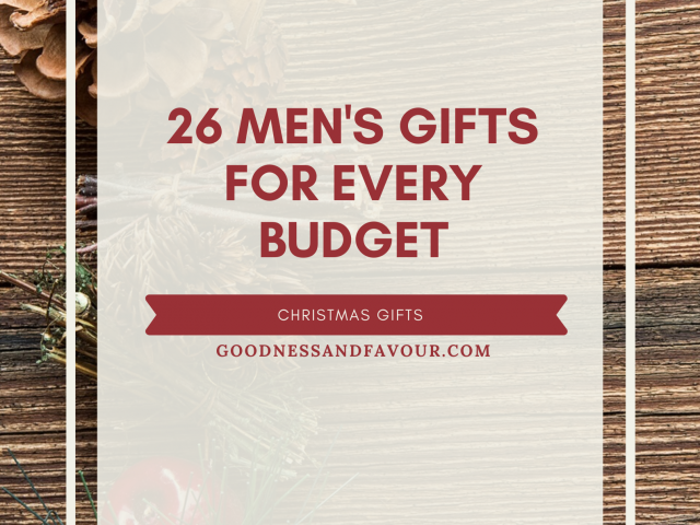 26 Men's Christmas Gifts for Every Budget