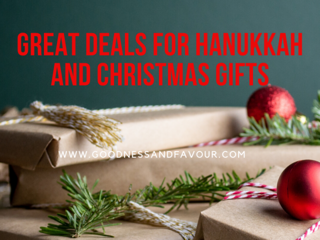 Great Deals for Hanukkah and Christmas Gifts