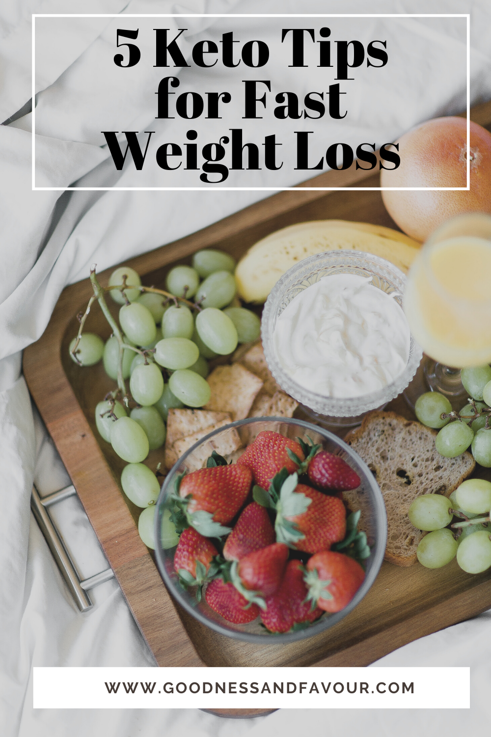 5 Keto Tips for Fast Weight Loss - Goodness and Favour