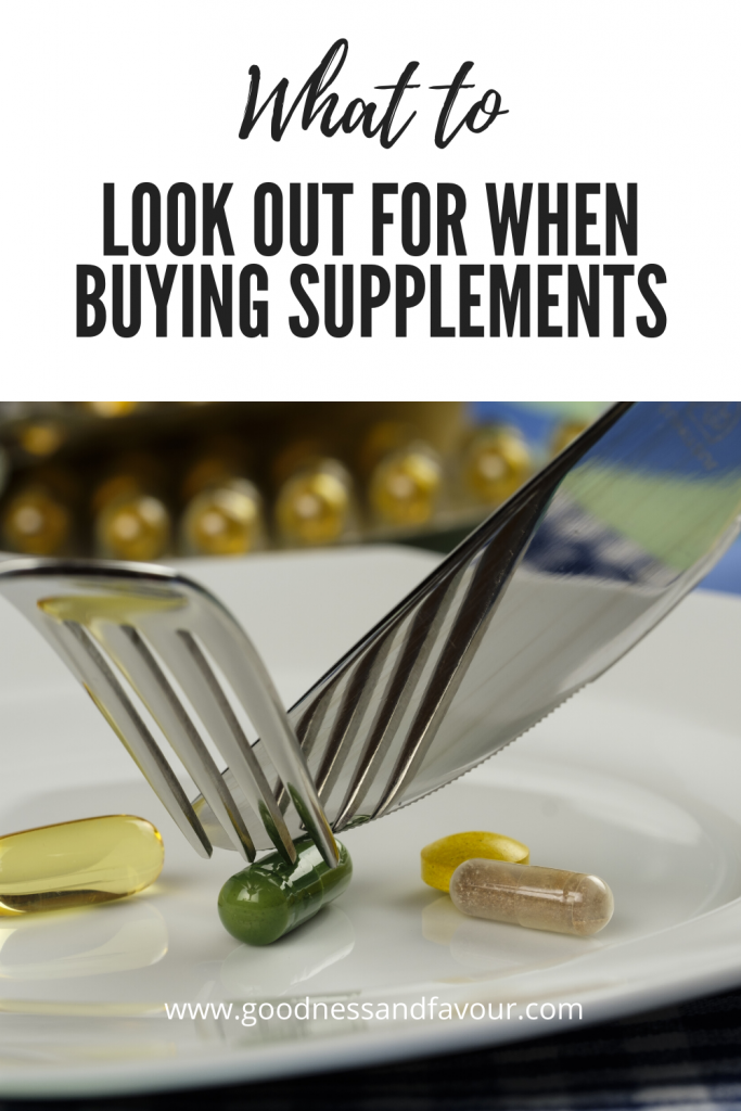 What to Look Out for When Buying Supplements