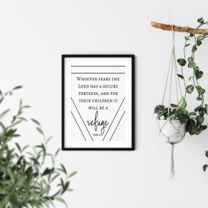Scripture Wall Art Fathers DayDay