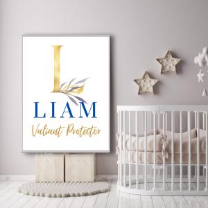 Baby Name Wall Art